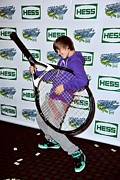 Usta Billie Jean King National Tennis Center Posters - Justin Bieber In Attendance For 2009 Poster by Everett