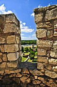 Ruins Photo Prints - Kalemegdan fortress in Belgrade Print by Elena Elisseeva