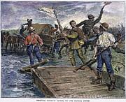 Kansas-nebraska Act, 1855 Print by Granger