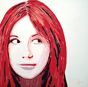 Dr Who Paintings - Karen by Ian  King