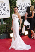 Golden Globe Framed Prints - Kate Beckinsale Wearing A J. Mendel Framed Print by Everett