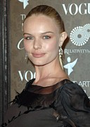 Diamond Earrings Framed Prints - Kate Bosworth At Arrivals For The Art Framed Print by Everett