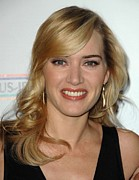 Natural Makeup Posters - Kate Winslet At Arrivals For 4th Annual Poster by Everett