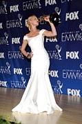 Evening Gown Photos - Katherine Heigl Wearing A Zac Posen by Everett
