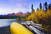 Kathleen Photos - Kathleen Lake And Mountains, Kluane by Yves Marcoux