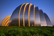 Kansas City Metal Prints - Kauffman Center Metal Print by Ryan Heffron
