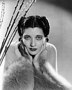 1930s Hairstyles Framed Prints - Kay Francis, Ca. Mid-1930s Framed Print by Everett