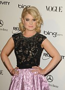 Black Top Posters - Kelly Osbourne At Arrivals For The Art Poster by Everett