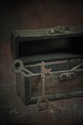 Chest Framed Prints - Keys Framed Print by Joana Kruse