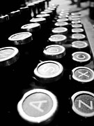 Typewriter Keys Prints - Keys Print by Kim Steel