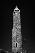 Historic Site Prints - Killala Round Tower County Mayo Ireland Print by Joe Fox