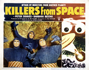 1954 Movies Posters - Killers From Space, 1954 Poster by Everett