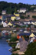 Roadway Framed Prints - Kinsale, Co Cork, Ireland Boats And Framed Print by The Irish Image Collection 