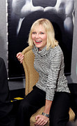 Press Conference Prints - Kirsten Dunst At The Press Conference Print by Everett