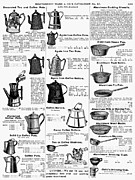Montgomery Prints - Kitchenware, 1895 Print by Granger