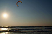 Serena Bowles - Kitesurfing at Sunset...