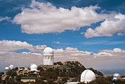 Steward Prints - Kitt Peak National Observatory Print by David Nunuk