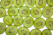 Sliced Prints - Kiwifruit Print by Nailia Schwarz