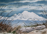 Landscape Greeting Card Painting Originals - Koma Kulshan by James Williamson