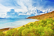 Peaceful Scene Prints - Komodo bay Print by MotHaiBaPhoto Prints