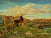 Barns Paintings - Kookaree by William Allen