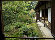 Shoji Prints - Koto-in Zen Temple Side Garden - Kyoto Japan Print by Daniel Hagerman