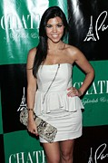 Chateau Prints - Kourtney Kardashian At Arrivals Print by Everett