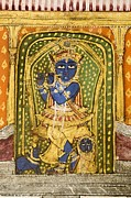 Vishnu Photos - Krishna 19th Century Miniature Painting by Paul D Stewart