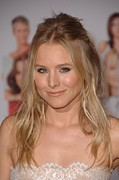 Kristen Bell Art - Kristen Bell At Arrivals For You Again by Everett