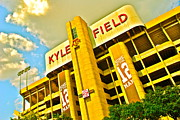 12th Framed Prints - Kyle Field Aggieland Framed Print by Chuck Taylor