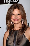 Dangly Earrings Framed Prints - Kyra Sedgwick At Arrivals For 17th Framed Print by Everett