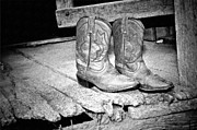 Cowgirl Photos - Kys Boots by Kathy Jennings