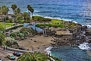 La Jolla Cove Print by Russ Harris