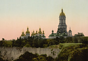 Kyiv Posters - La Lavra - Kiev - Ukraine - ca 1900 Poster by International  Images