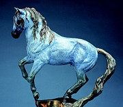 Western Art Sculptures - La Luz by Peggy Detmers
