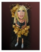 Gaga Paintings - Lady Buoy by Cathi Doherty