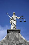 Attorney Framed Prints - Lady Justice Framed Print by Joe Burns