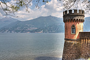 Panorama Acrylic Prints - Lago di Como Acrylic Print by Joana Kruse
