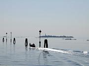 Lagoon. Venice Print by Bernard Jaubert