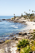 High Key Framed Prints - Laguna Beach California Framed Print by Paul Velgos
