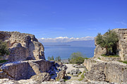 Archeology Prints - Lake Garda Print by Joana Kruse