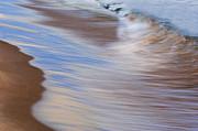 Lake Michigan Surf Print by Dean Pennala