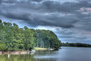 Cloud Formations. Cloud Photography Prints - Lakeside Print by Barry Jones