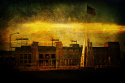 Aaron Rodgers Prints - Lambeau Field Print by Joel Witmeyer
