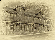 Building Originals - Lambertville Train Station by Arnie Goldstein