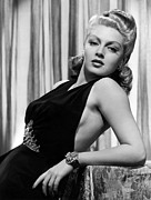 Bracelet Framed Prints - Lana Turner, Ca. 1940s Framed Print by Everett