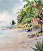 Tropical Island Originals - Las Animas by Gertrude Palmer