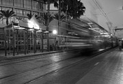 Trolley Photos - Late For The Trolley by Eddie Yerkish