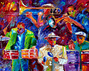 Latin Jazz Print by Debra Hurd