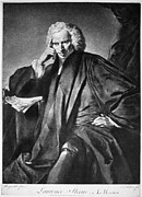 Reynolds Photos - Laurence Sterne (1713-1768) by Granger